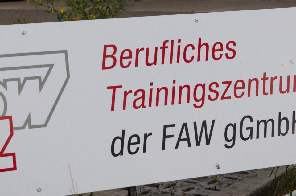 Dauerausstellung im Beruflichen Trainingszentrum Gera